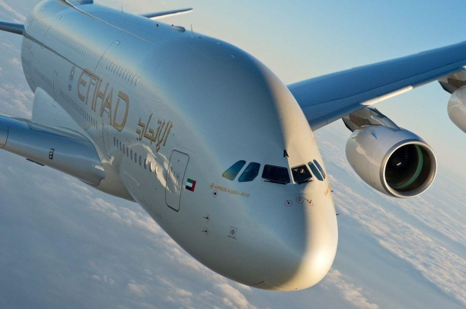 UAE's Etihad plans to expand A380 service to Paris