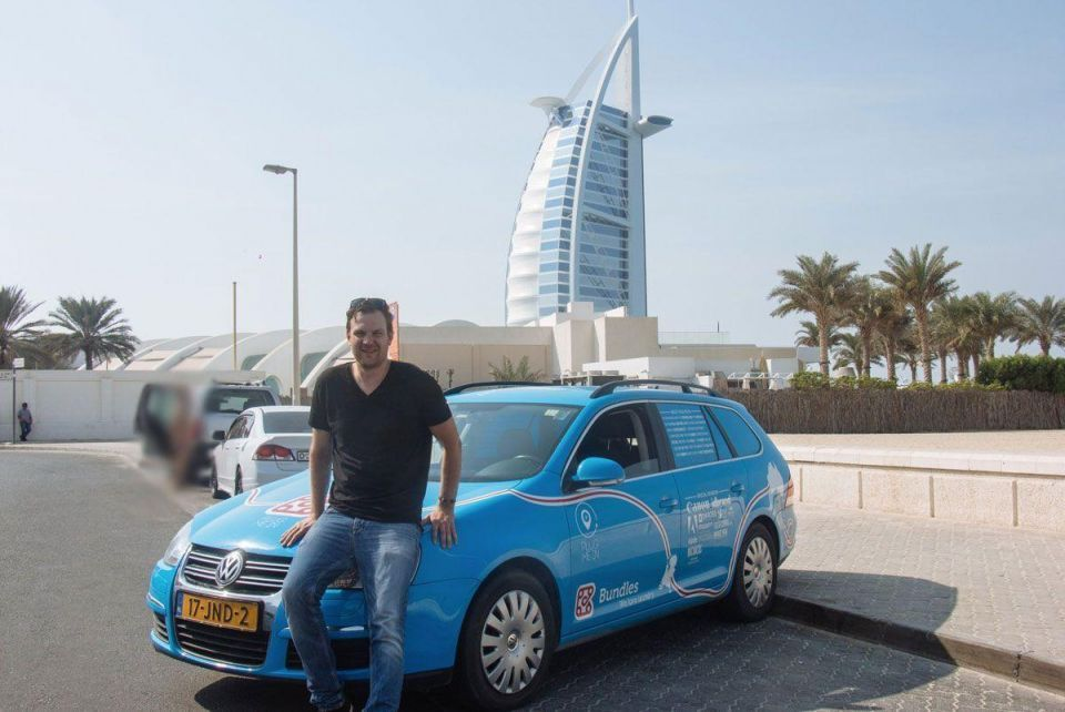 Dutchman who was stuck in the UAE can continue on his way