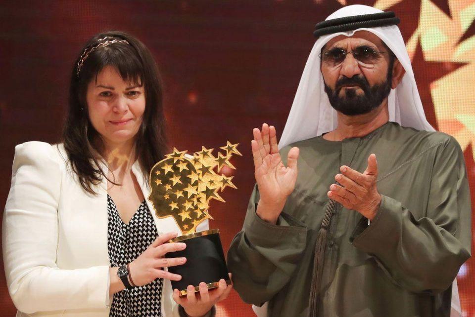 Canadian wins $1m best-teacher prize in Dubai