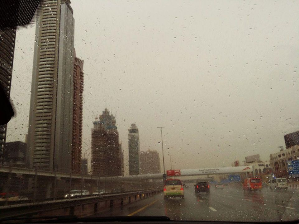 Unstable weather to continue across the UAE