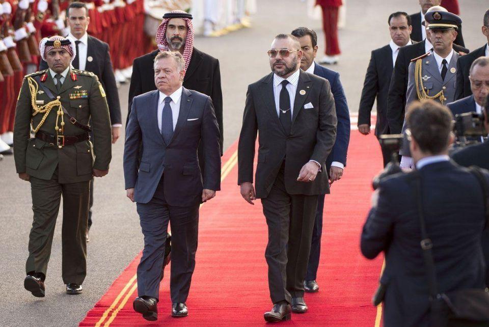 In pictures: King Abdallah II of Jordan visit Morocco