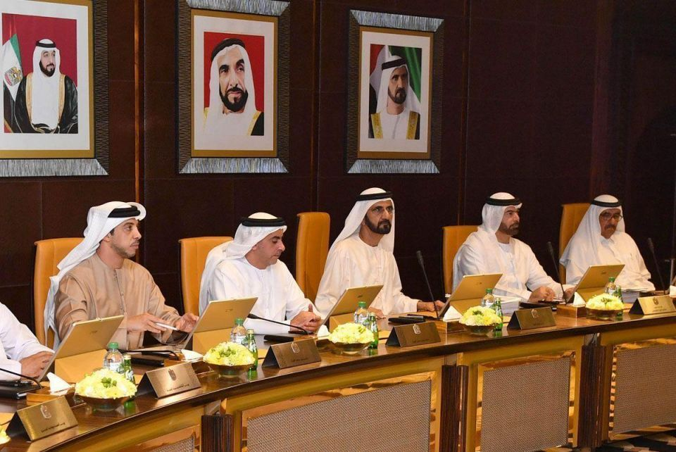 UAE Cabinet sets plans in place for next 50 years