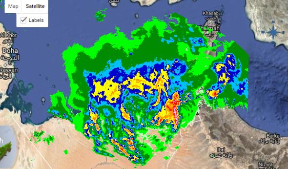 Weather disrupts flights at Dubai International Airport
