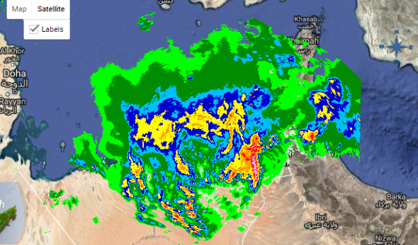 Events cancelled as thunder storms hit the UAE