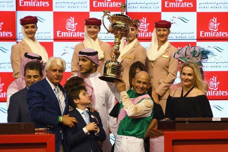 Saudi-owned Arrogate wins Dubai Cup