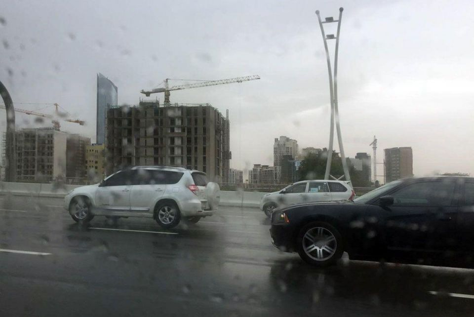 Rain leads to 1,500 accidents over the weekend in Dubai