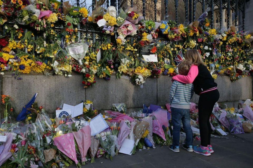 In pictures: Silent tribute to London attack victims