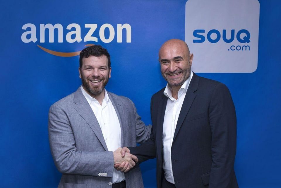 Amazon clinches deal to buy Middle East online retailer Souq.com