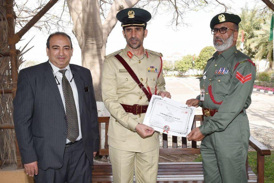 Dubai policeman fines himself for hitting parked car