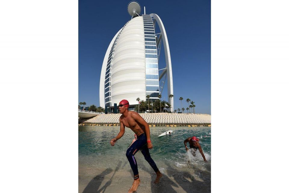 In pictures: Burj Al Arab swimming competition