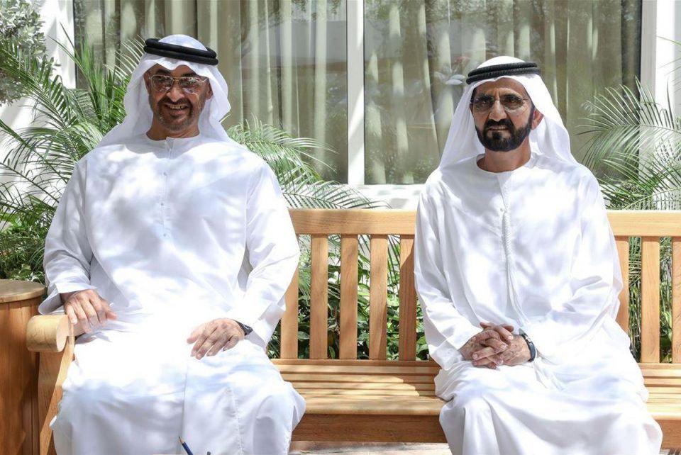 Dubai's Sheikh Mohammed meets with Abu Dhabi Crown Prince