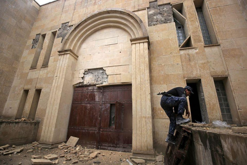 In pictures: Ruined museum of Mosul