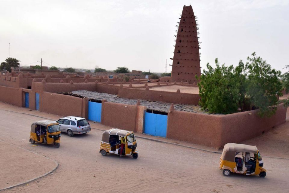 In pictures: Stunning ancient mud mosque in Agadez