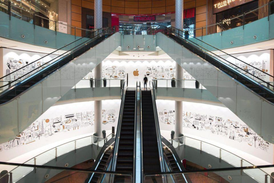 Apple prepares to open second Dubai store