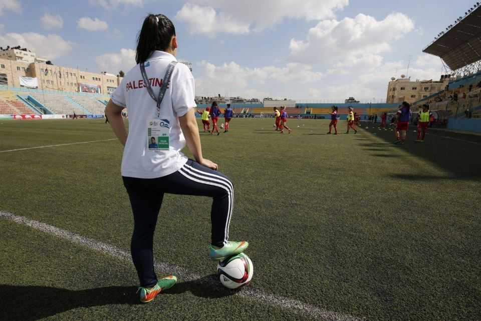 In pictures: Palestinian women's national football team