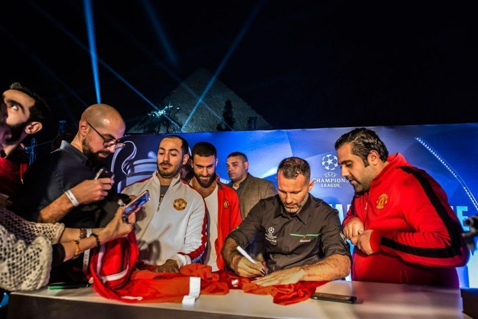In pictures: UEFA Champions League Trophy Tour under way in Egypt
