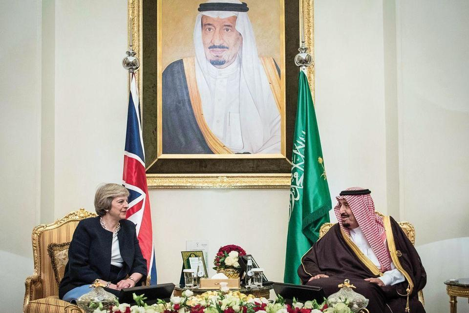 May's visit underlines UK's desire to be 'partner of choice' for Gulf states