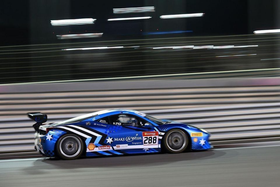 In pictures: Ferrari Challenge Asia Pacific in Abu Dhabi
