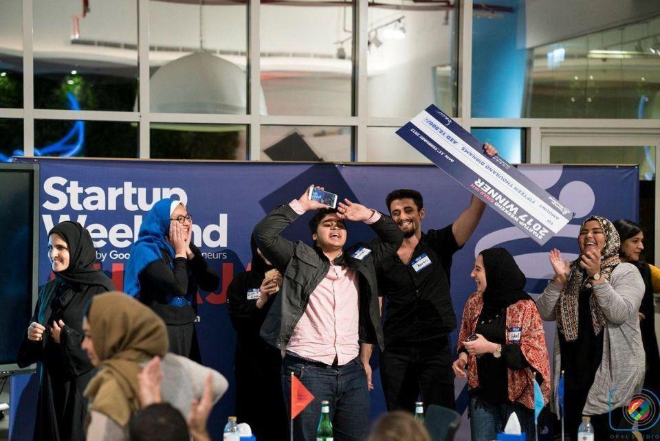 Asmani wins Sheraa's first Startup weekend