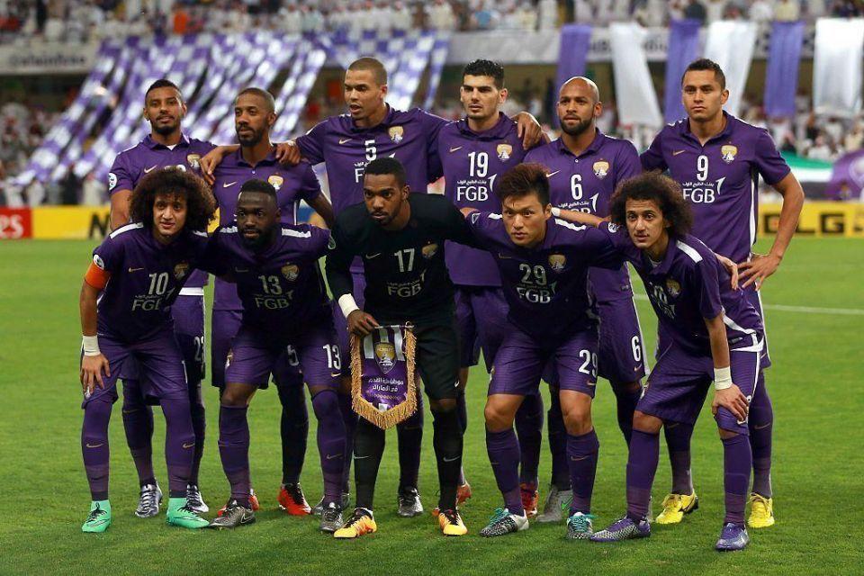 AFC Champions League at the Hazza bin Zayed Stadium in Al-Ain