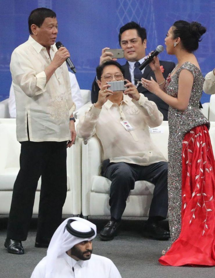 In pictures: President of the Philippines visits Qatar