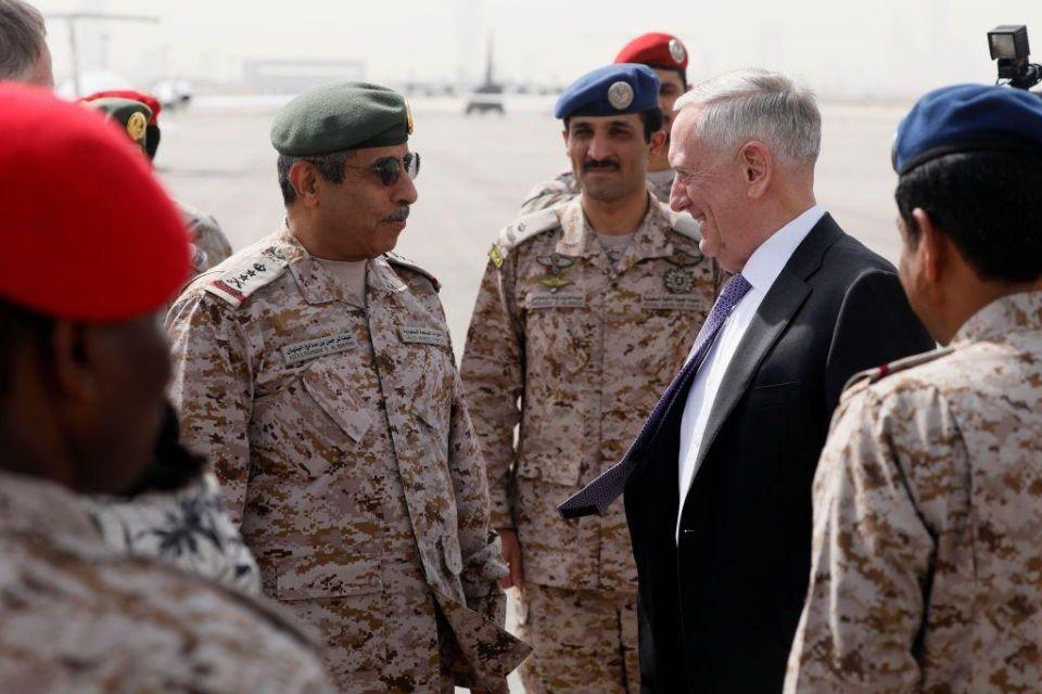 Mattis looks to boost US-Saudi alliance during visit