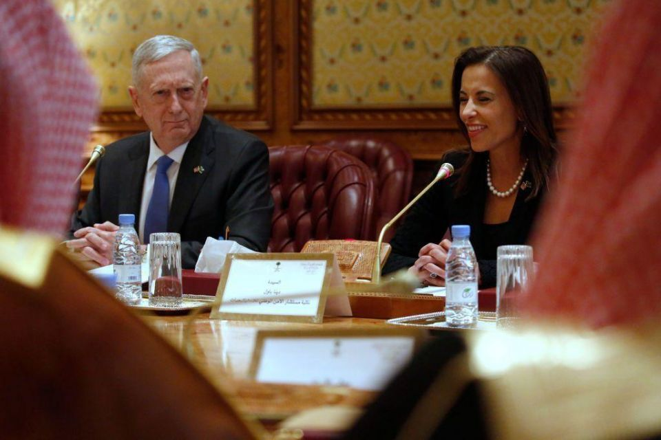 In pictures: US Defense Secretary visits Saudi Arabia