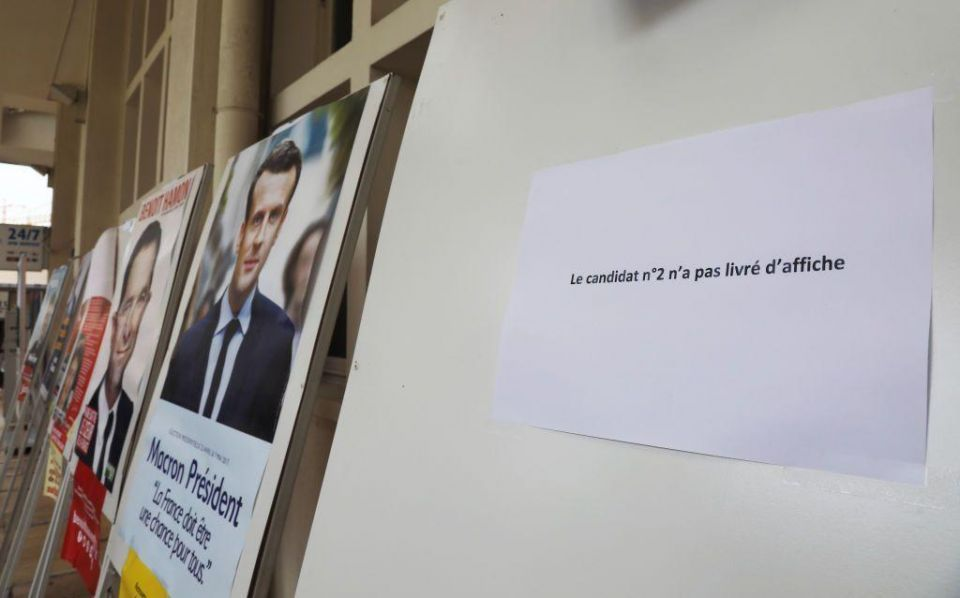 Lebanese vote in French election