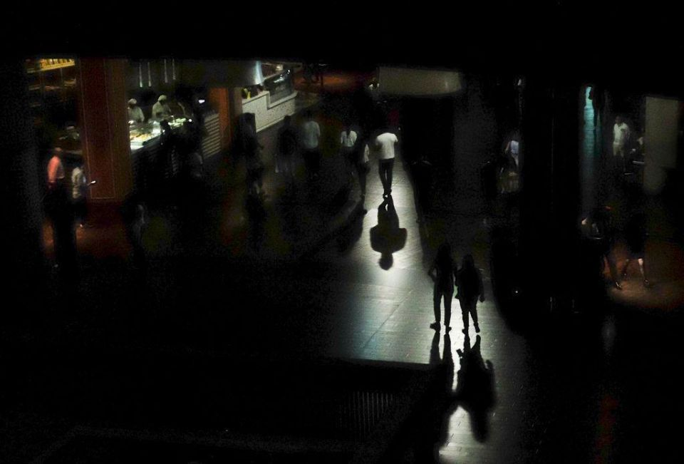 In pictures: Power cut at The Dubai Mall