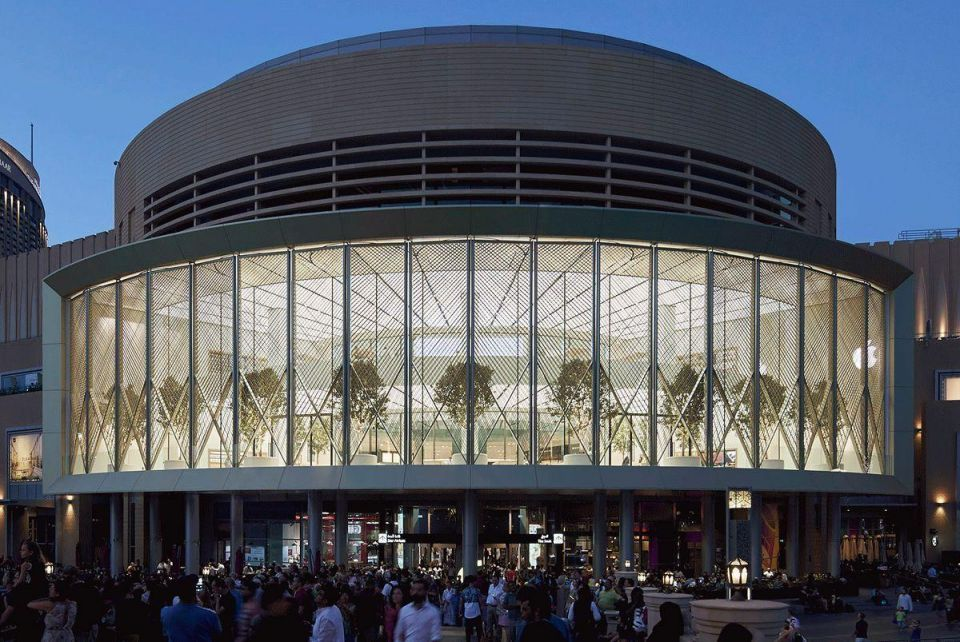 In pictures: Apple opens spectacular new store at The Dubai Mall