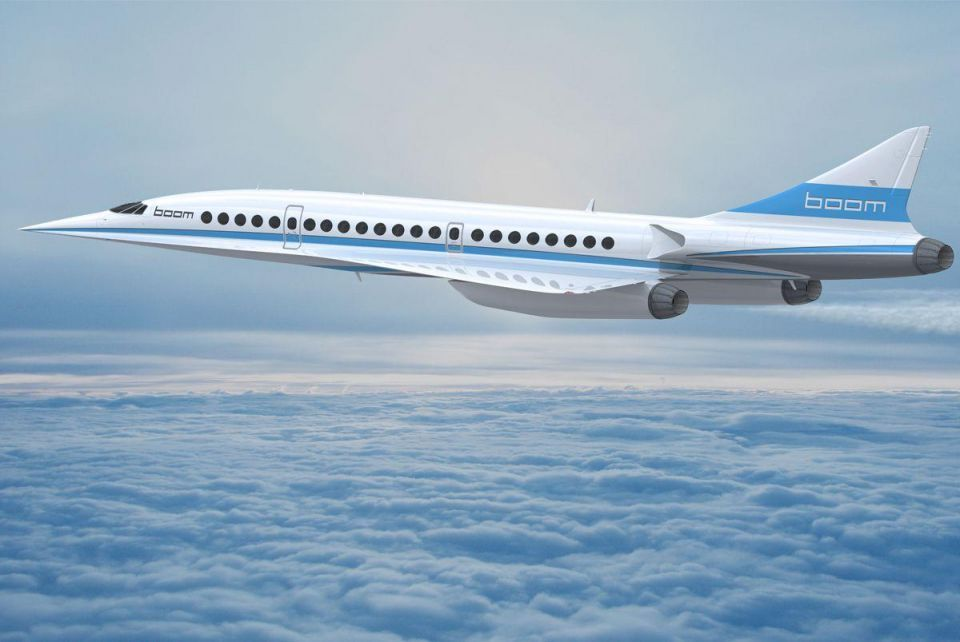 Dubai could be early adopter of supersonic jetliner, says Griffiths