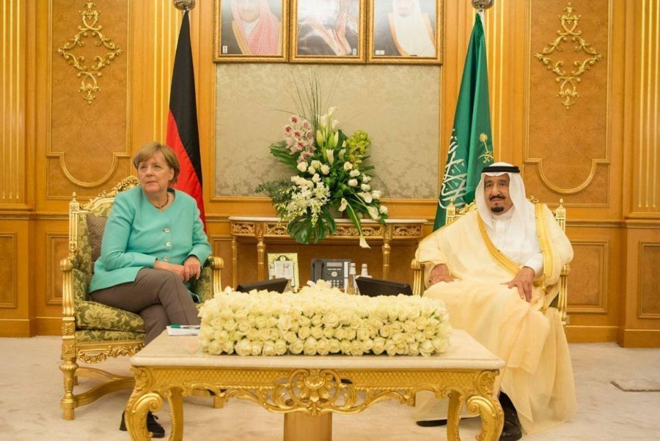 "Relations between Germans and Saudis are ""solid but not shining"""