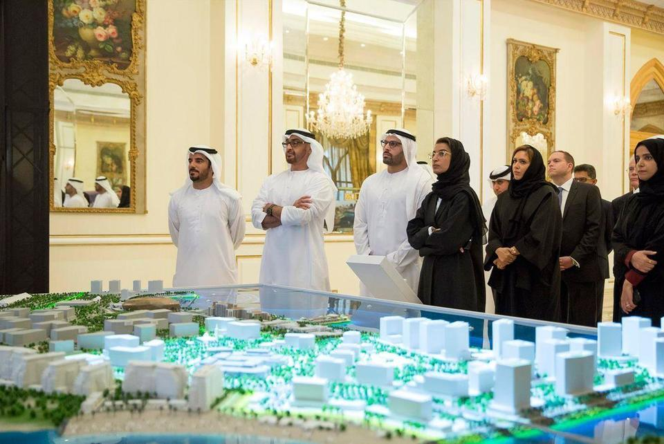 In pictures: Abu Dhabi Crown Prince inspects Yas Island development
