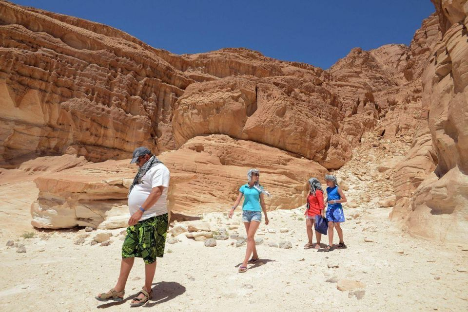 In pictures: Tourists take part in a tour in Taba's Protected Area
