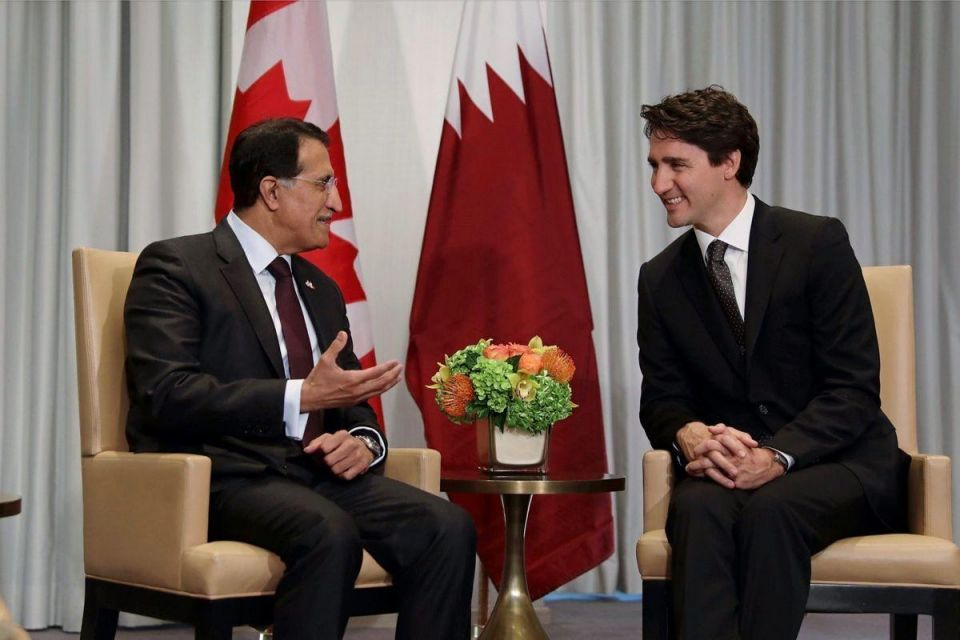 Qatar's sovereign wealth fund looks to Canada