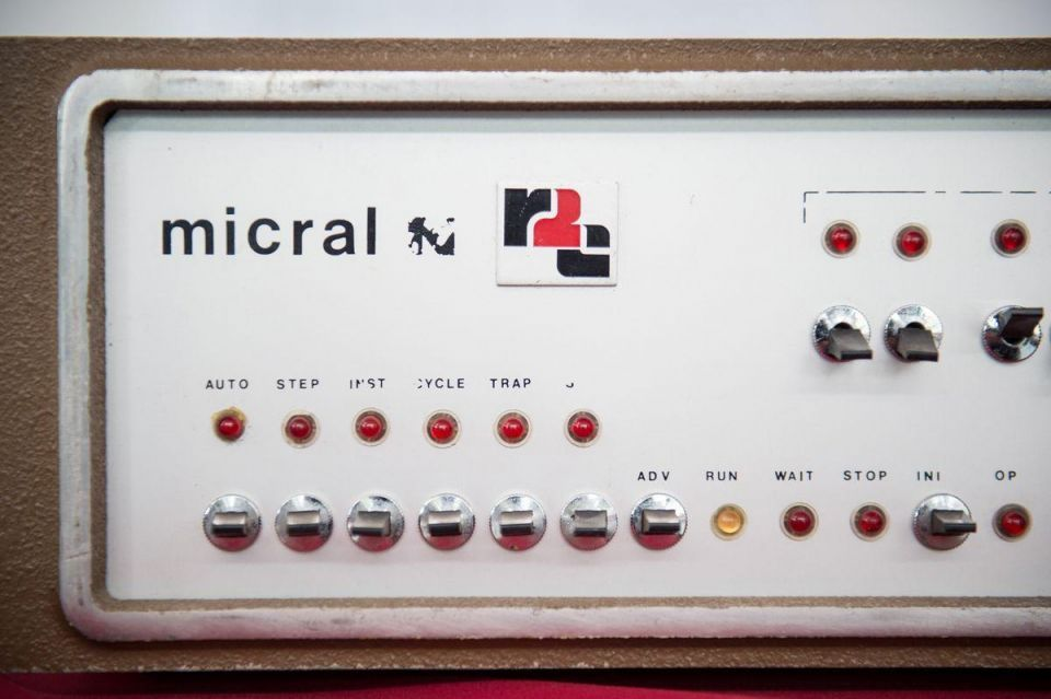 In pictures: French 'Micral N' first commercial non-kit computer based on a microprocessor