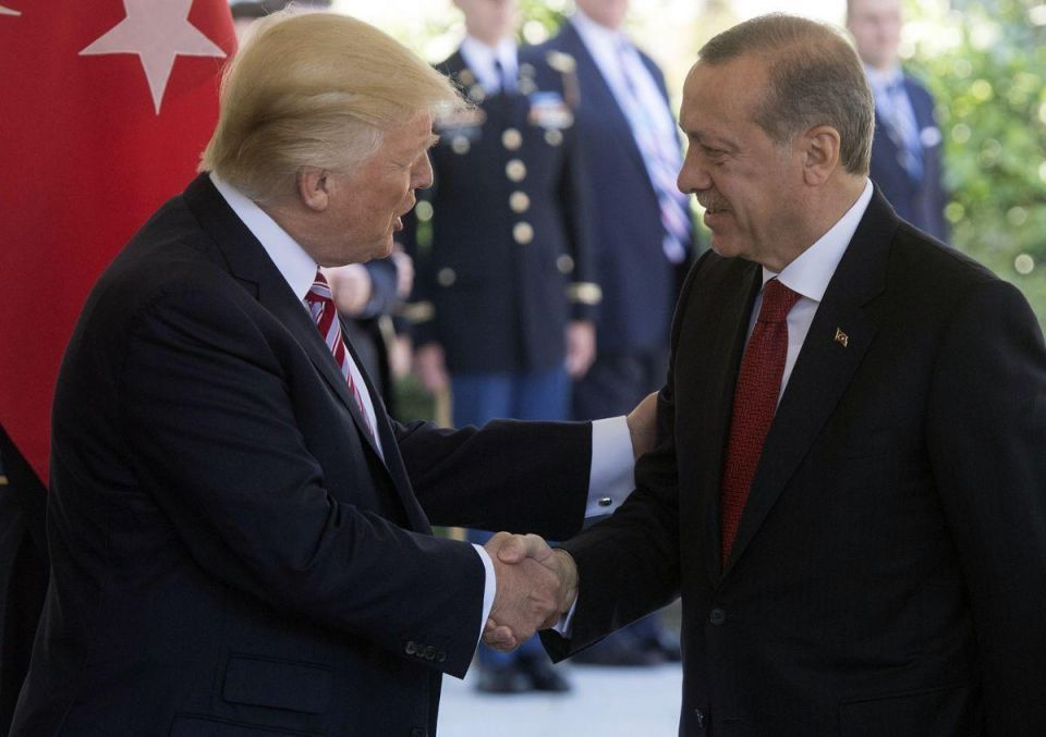 In pictures: President Trump hosts Turkish President Erdogan at White House