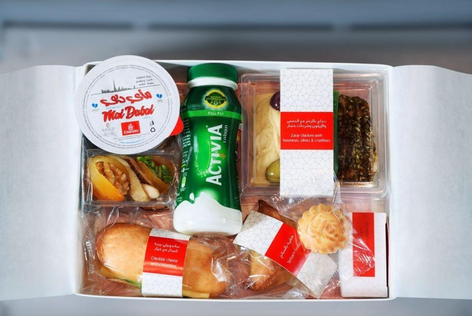 Emirates airline unveils Ramadan Iftar boxes