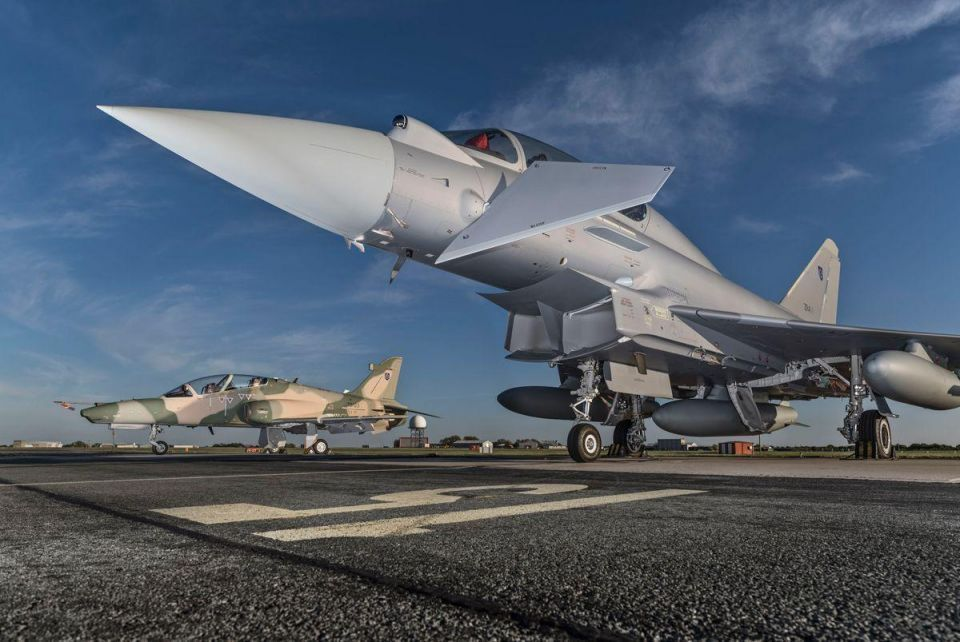 UK defence giant announces Saudi deal for 48 fighter jets