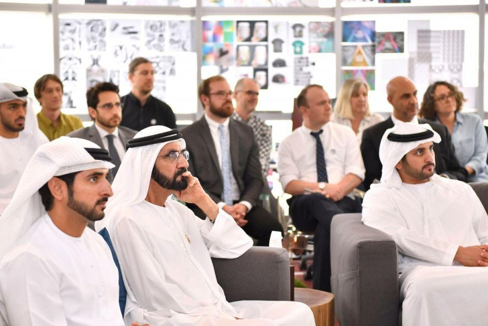 In pictures: Sheikh Mohammed launches new start-up hub 'Area 2071'