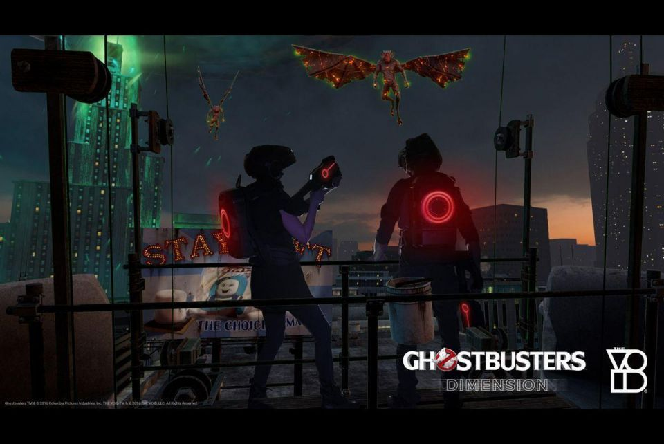 In pictures: Ghostbusters comes to life with virtual reality