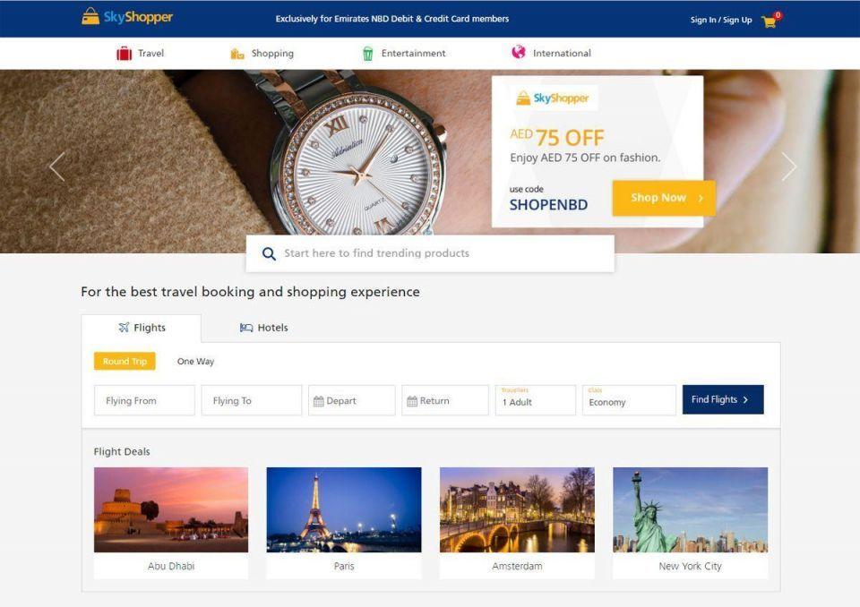 Dubai's largest bank launches its own online marketplace