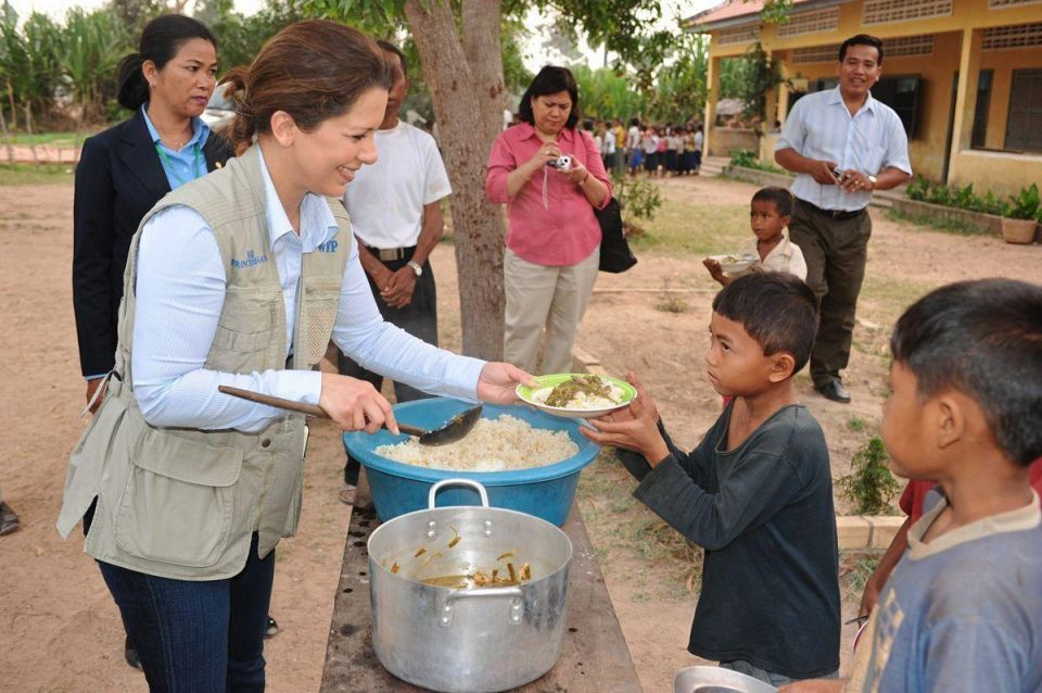 Princess Haya: How hunger severely impacts a child's future