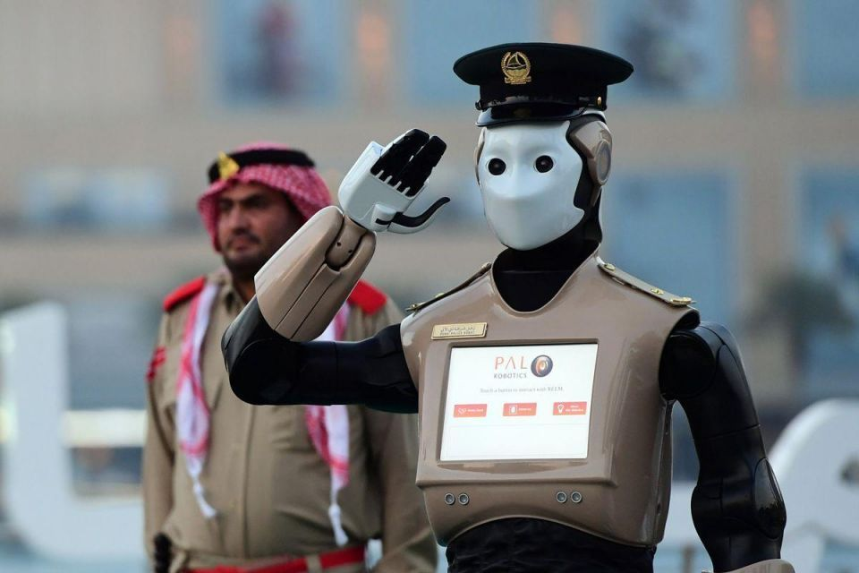 Abu Dhabi police unveil high-tech vision of the future