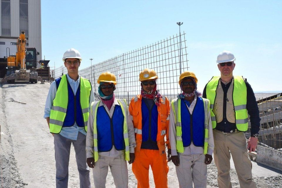 Cooling vests set to help UAE construction workers