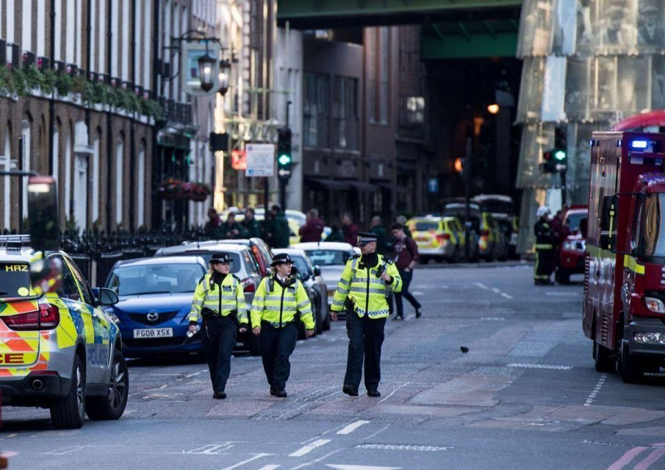 In pictures: Seven civilians killed in a terror attack in central London