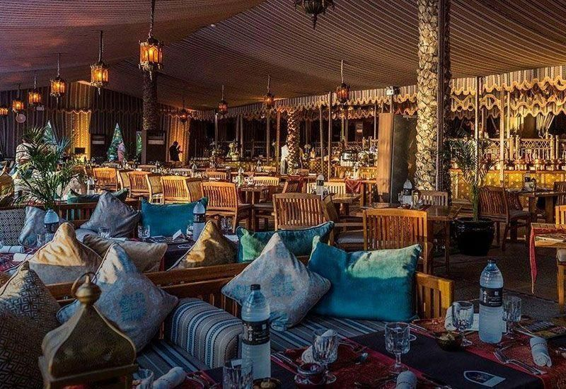 Look inside luxury Ramadan tents in the UAE