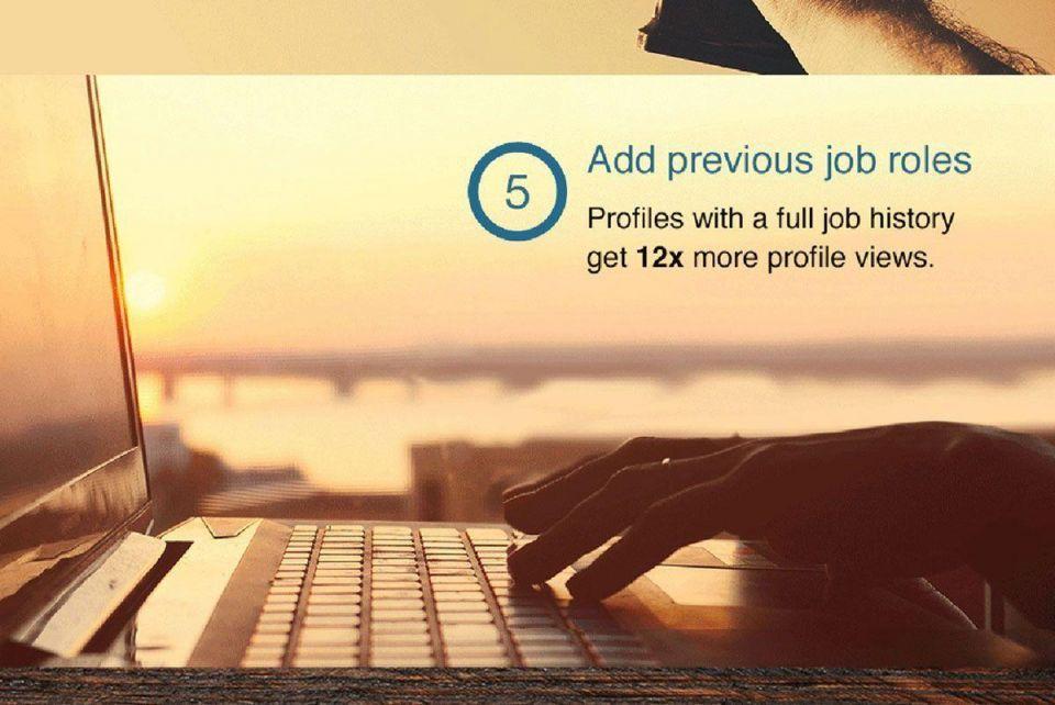 LinkedIn: 5 profile updates in 5 minutes