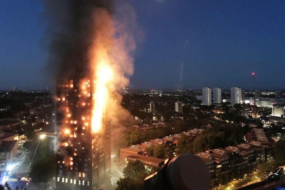 UAE experts warn over cladding after London tower blaze