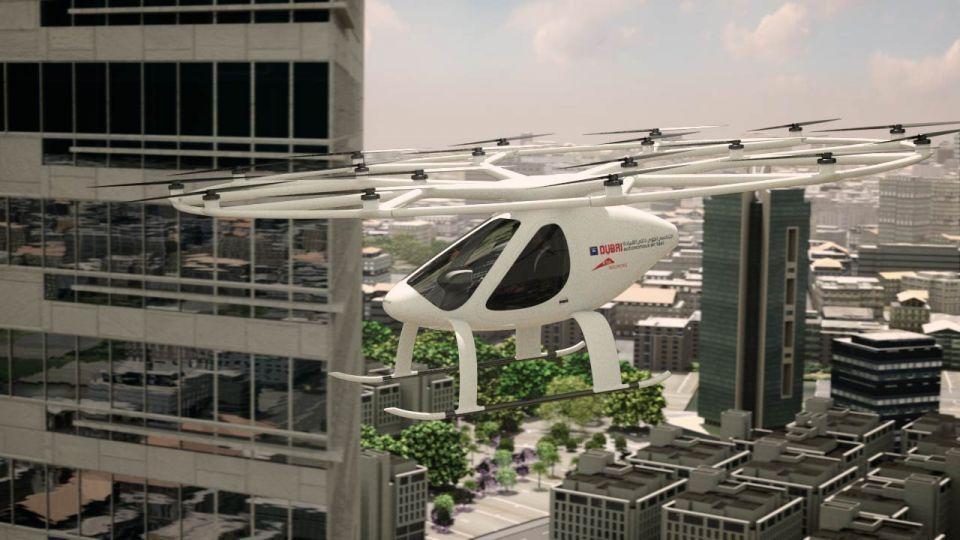 Dubai to start testing autonomous air taxis in Q4